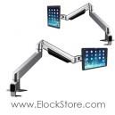 Bras tablette universel télescopique CLINGON - Compulocks 660REACHCLG10-12S Elockstore REF00390