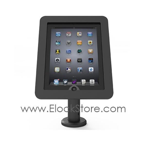 Pied tablette passe cable de table RISE - Pied seul compatible Vesa - Maclocks RISE TCDP01 Elockstore REF00414