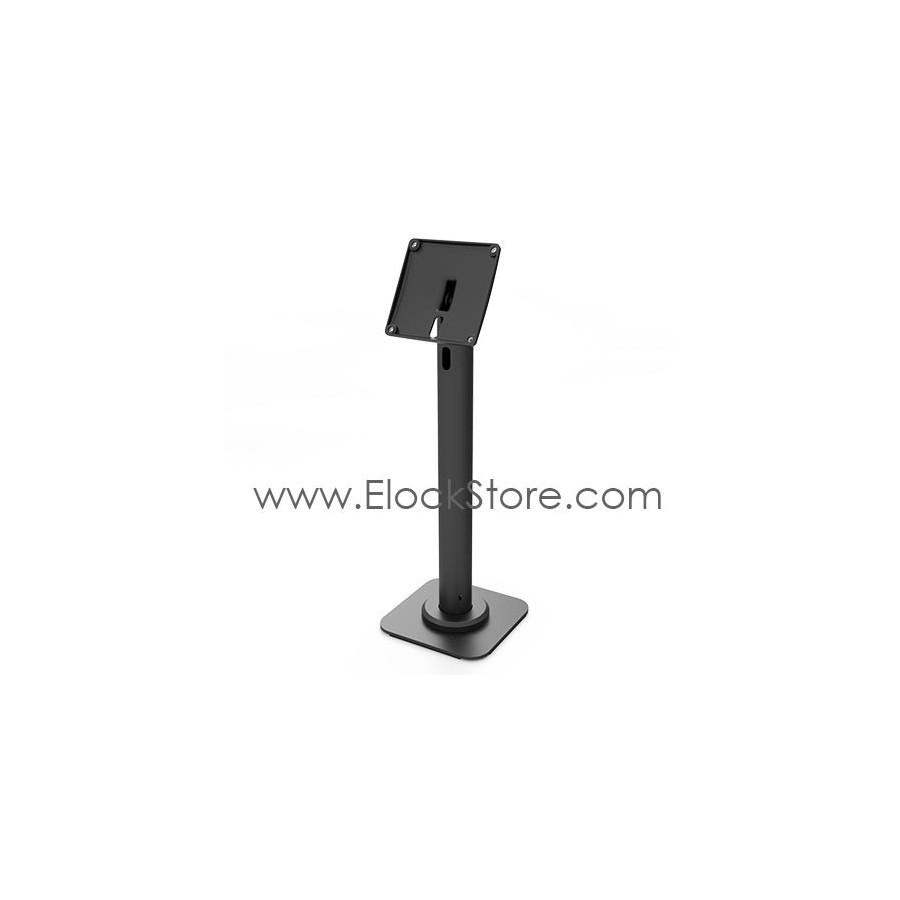 Pied tablette passe cable de table RISE Noir - Maclocks RISE Elockstore REF00414