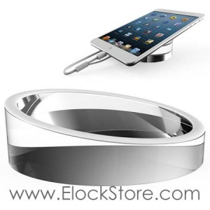 Support Tablette Table Apple Store, Socle Plexiglass Tablette et Smartphone, Neolock B5703 ElockStore REF02001