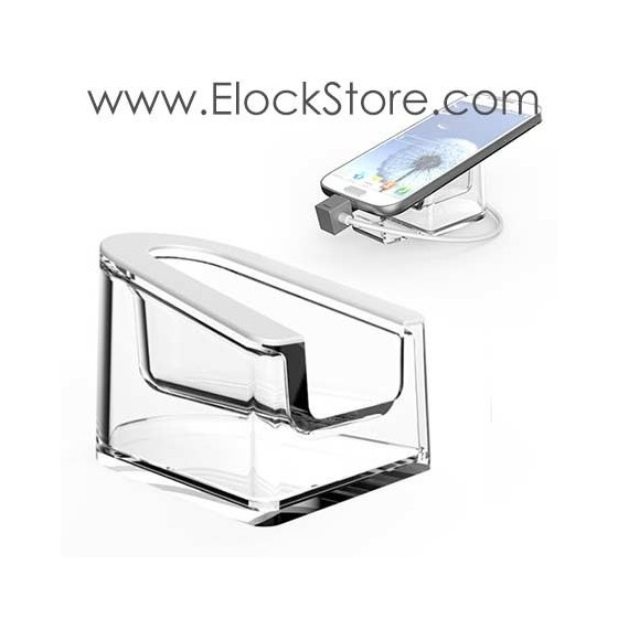 Support  Smartphone Table Apple Store - Socle Plexyglas phablette et Smartphone - Neolock B5702 ElockStore REF02002