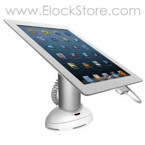 Support alarme pour tablette smartphone ou gps autonome pour rayonnage, Neolock SI111