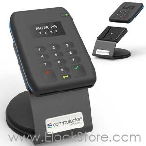 Support lecteur carte bancaire et smartphone, SlideDock, 199BSLDDCKB