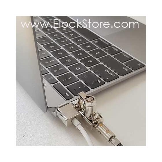 Antivol MacBook 12 pouces - Maclocks MB12BRWEDGE