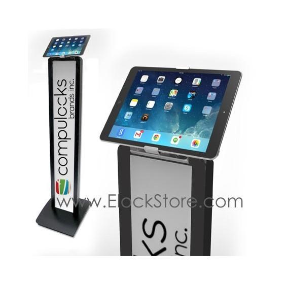 Borne tablette universelle - Pied totem BrandMe Cling On - Noir - Maclocks 140BCLG10 ElockStore REF00380 1