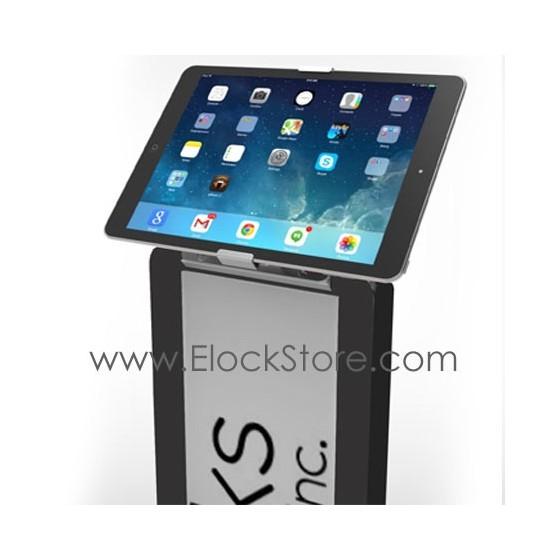Borne tablette universelle - Pied totem BrandMe Cling On - Noir - Maclocks 140BCLG10 ElockStore REF00380 2