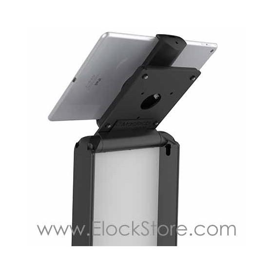 Borne tablette totem BrandMe Cling - Noir - Maclocks 140BUCLGVWMB