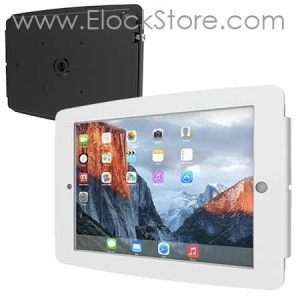 Coque antivol iPad mural aluminium - iPad Space Maclocks