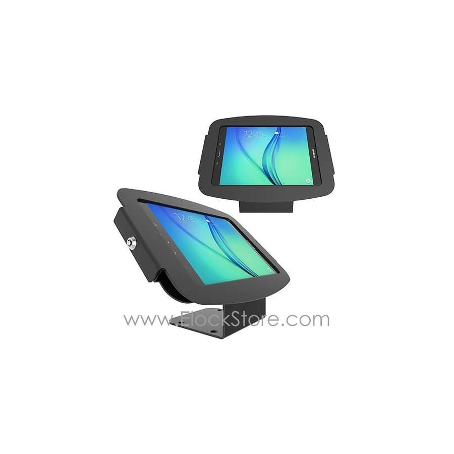 Borne alu Galaxy Tab A 10.1 - Kiosque Space et Support fixe - Noir - Maclocks 101B910AGEB