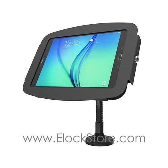 Coque antivol Galaxy Tab A et bras flexible - Space Flex Compulocks