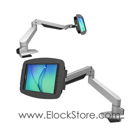 Coque antivol Galaxy tab A et bras télescopique - Space Reach Compulocks