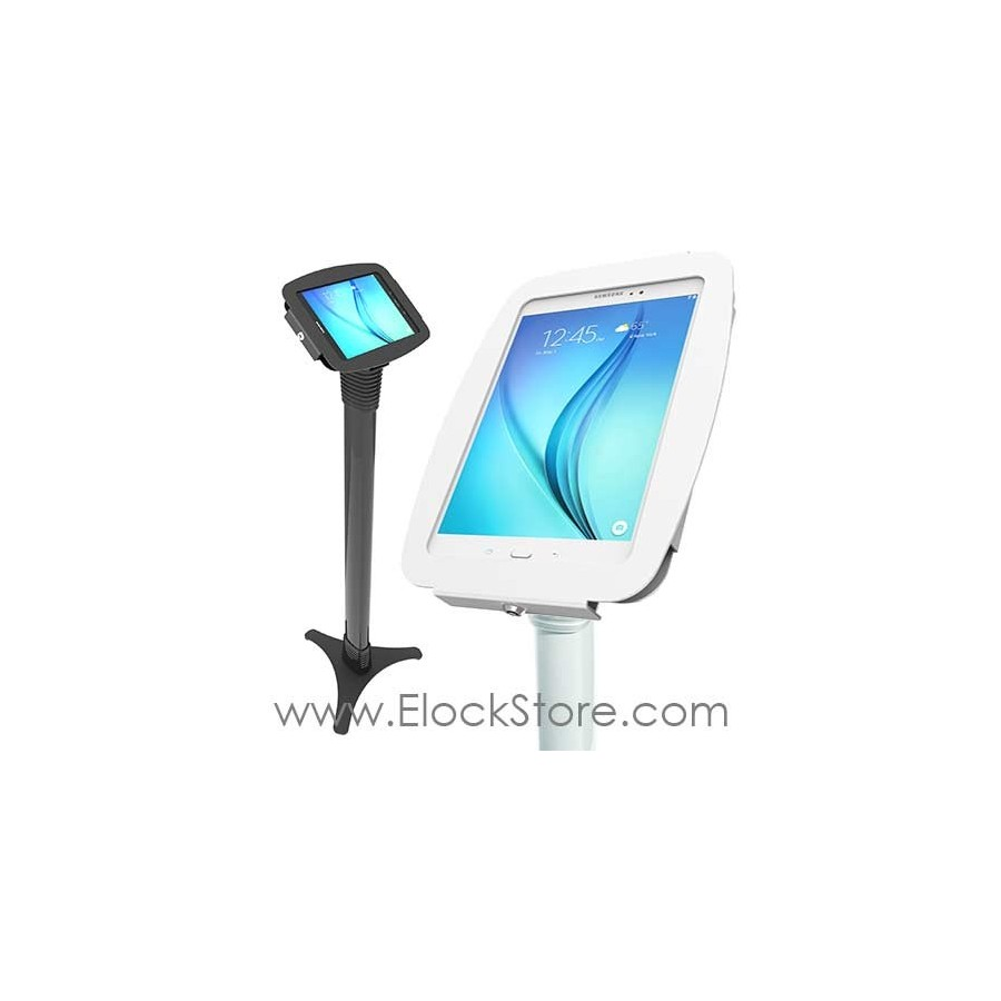 Borne Galaxy tab A 10.1 - Pied Ajustable et Kiosque Space - Maclocks 147B910AGEB 147W910AGEW