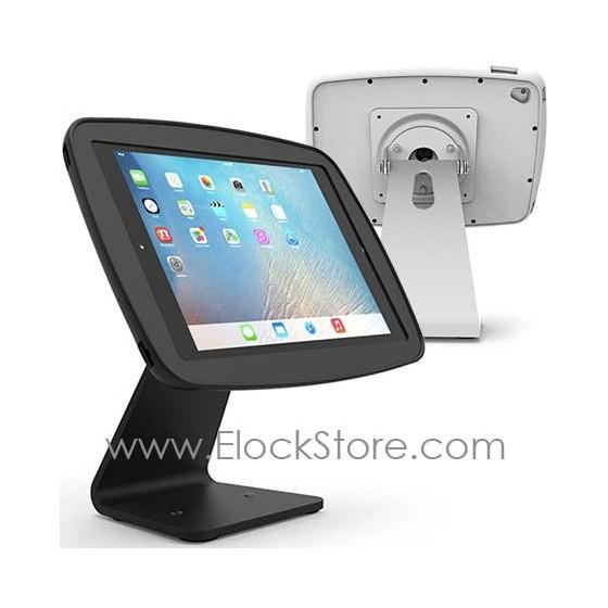 Borne de table iPad avec Coque HyperSpace et pied 360 pour iPad Air 2 Pro 9.7 - 303B260HSEBB 303W260HSEWW