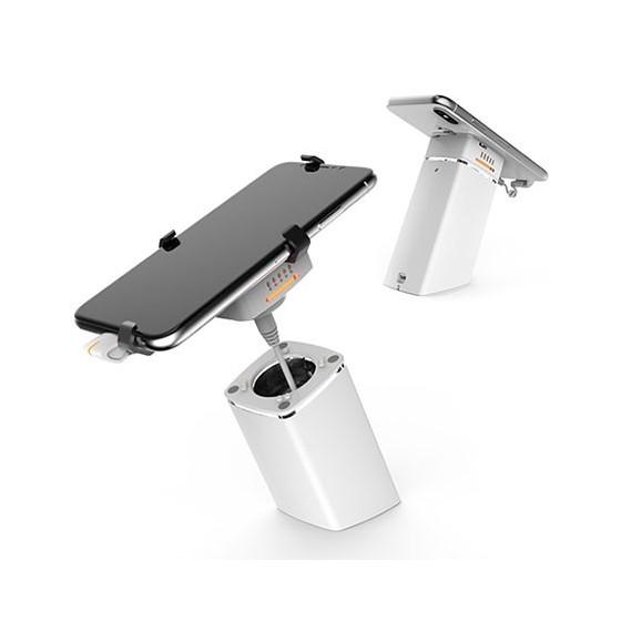 Présentoir libre touché pour tablette smartphone autonome pour rayonnage, Neolock A100