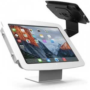 Borne iPad antivol avec support fixe - iPad Space kiosk Compulocks