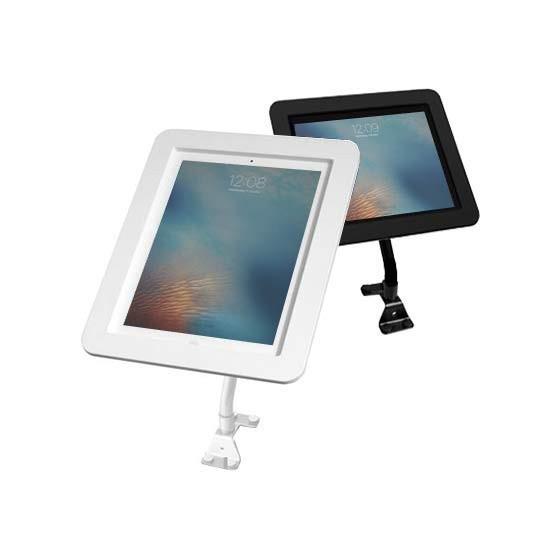 Bras flexible et Coque iPad antivol - Executive Kiosk Maclocks