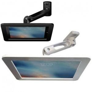 Bras iPad antivol rotatif et coque alu  - Executive Hero Maclocks