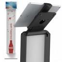 Borne tablette avec pied à personnaliser - Cling BrandMe Compulocks
