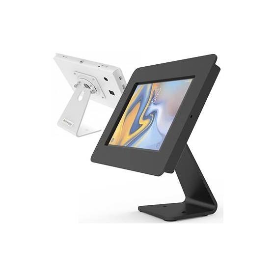 Coque antivol Galaxy Tab et iPad avec pied rotatif - Rokku 360 Compulocks