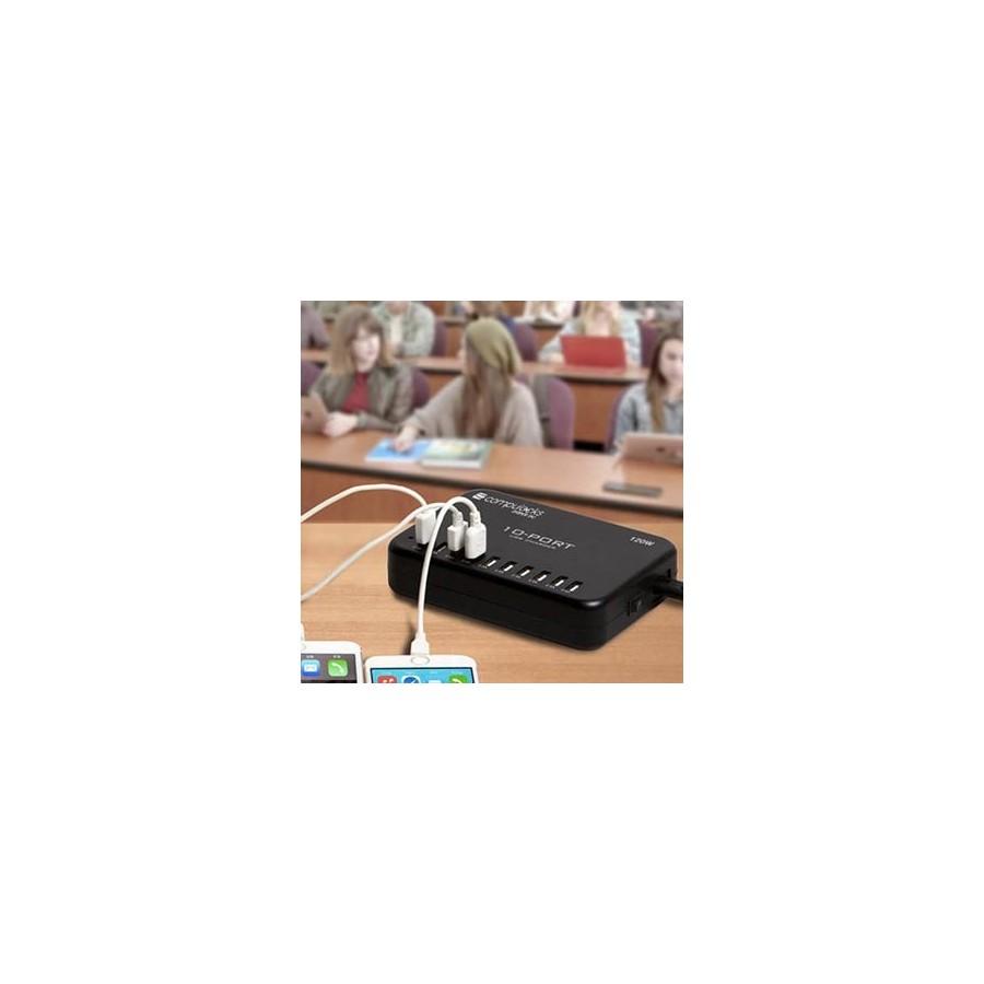 Station de chargement 10 ports USB