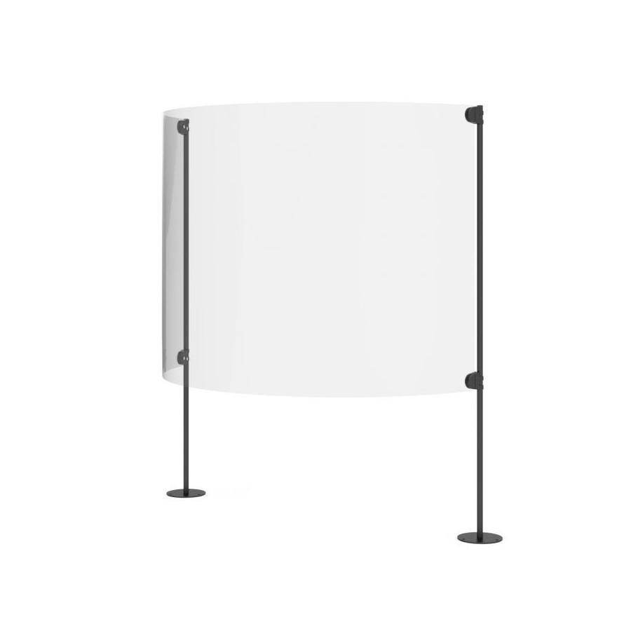 Ecran plexiglas de protection sanitaire anti covid