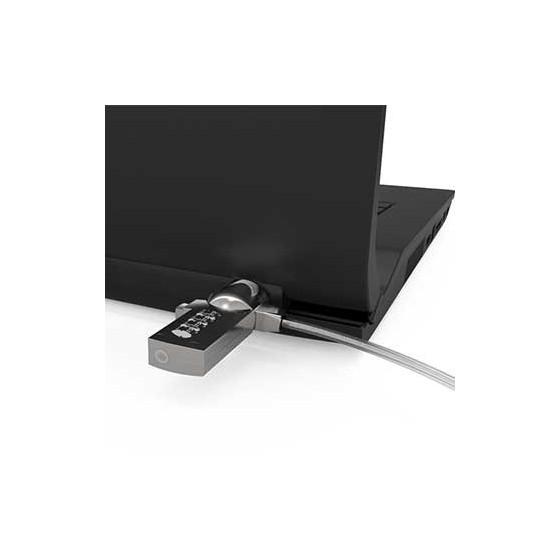 Cable antivol informatique pas cher à code 1m80 Neolock