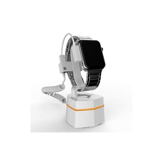 Support alarme pour montre connectee autonome, Support de presentation smartwatch autonome, Neolock A305HW