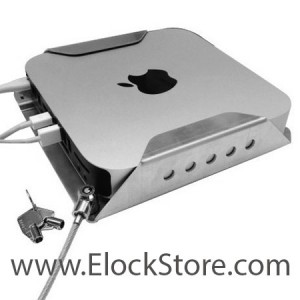 Socle Antivol Mac Mini - Support mural sécurisé pour Mac Mini - Maclocks Compulocks MMEN76