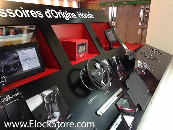 Honda - Bras téléscopique et Coque space pour iPad Air Maclocks ElockStore
