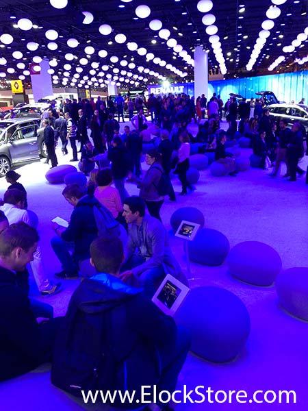 Renault - Coque antivol aluminium Galaxy Tab 4 Galaxyenclosure ElockStore