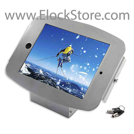 kiosque antivol ipad air galaxy tab surface pro mural maclocks elockstore compulocks galaxyenclosure surfaceenclosure