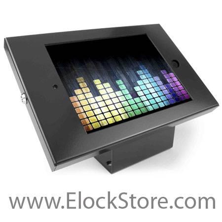 Kiosque coque antivol Alu iPad Maclocks compulocks elockstore galaxyenclosure ipadenclosure bouncepad