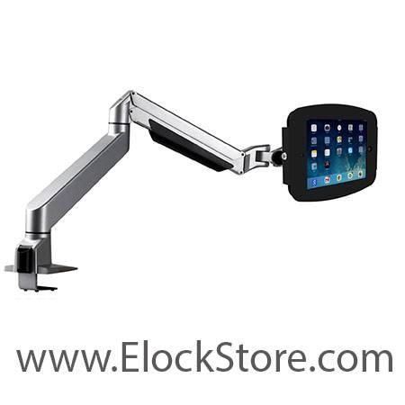 Bras télescopique articulé antivol pour iPad Galaxy et Surface
