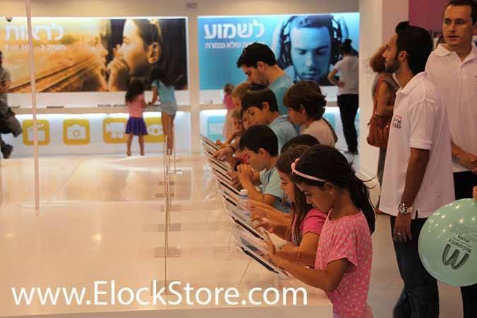 antivol iPad elockstore chez cellcom