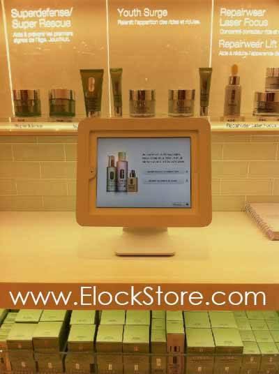 Pied rotatif aluminium ipad Maclocks ElockStore.com Chez Clinique